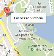 Map of Lacrosse Victoria Offices