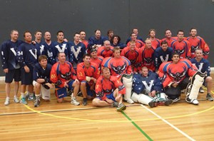 Vic & SA Team Photo Adelaide Box Lax 2013
