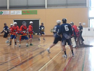 SA defending Vic players Adelaide Box Lax 2013