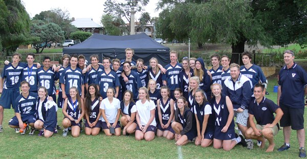 2013 U18 Vic Boys and Girls Team Photo