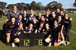 National Champions 2013 - VIC Senior Women's Team