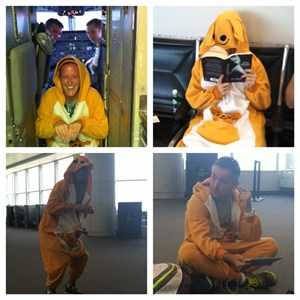2013 WWC Aussies in Kangaroo outfit