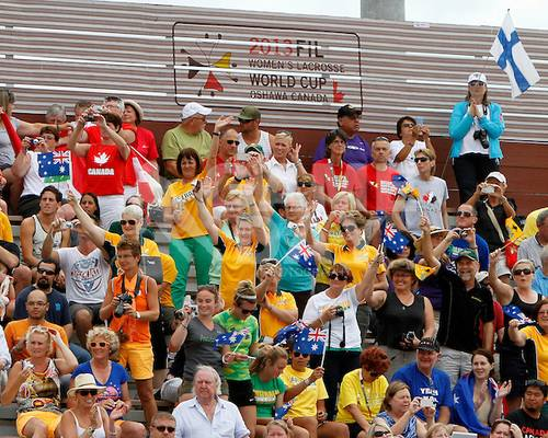 2013 WWC - AUS Supporters
