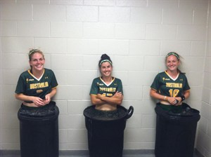 2013 WWC 17th July, Ice Baths