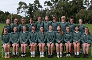 The 2015 Australian U19 Women's Team