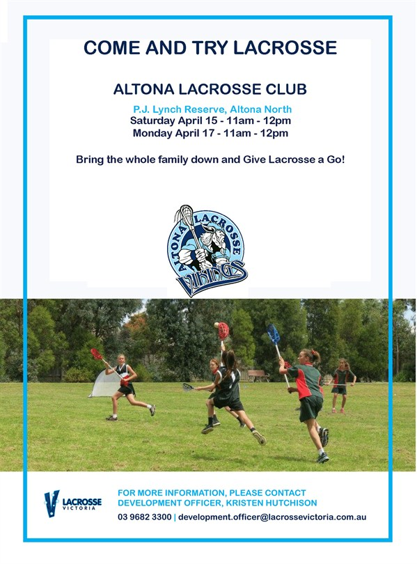 Come and Try Lacrosse