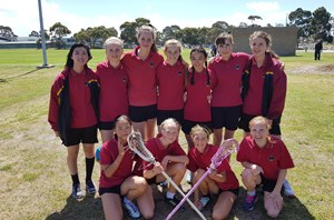 Williamstown High school winners of the Girls competition