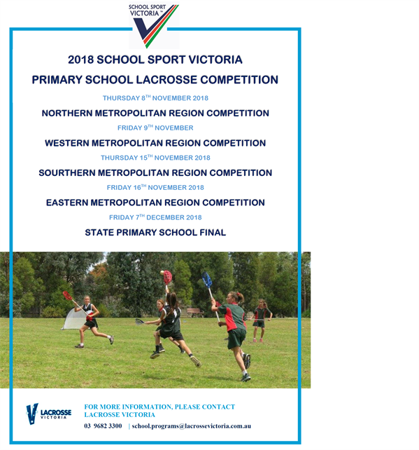 2018 primary school competitions