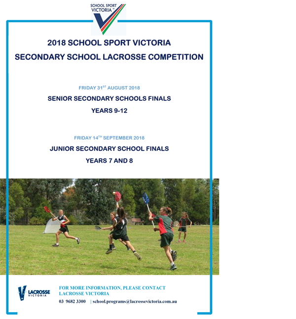 2018 Secondary school competitions