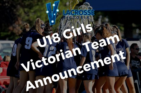 2020 Under 18 Victorian Girls Team Announced
