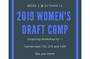 Eltham LC Hosts Week 2 of the 2019 Draft