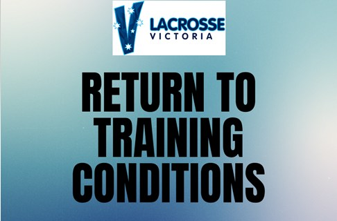 Return to Lacrosse Training Conditions