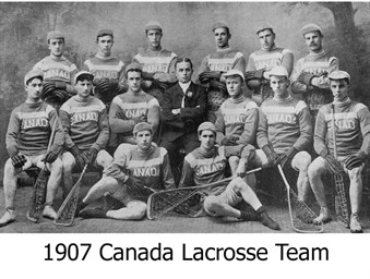 1907 Canadian team