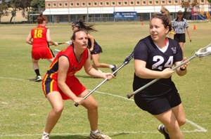 Victoria vs South Australia in the 2012 Women's Senior Nationals